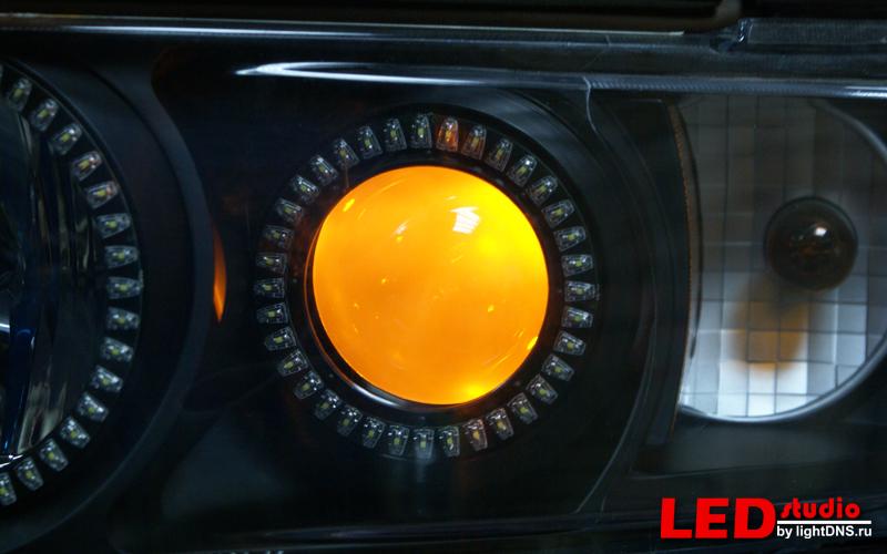 Подсветка для линз своими руками 138