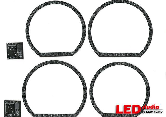 LADA PRIORA платы MI-CIRCLE NR (2 левых и 2 правых кольца + стабилизаторы)