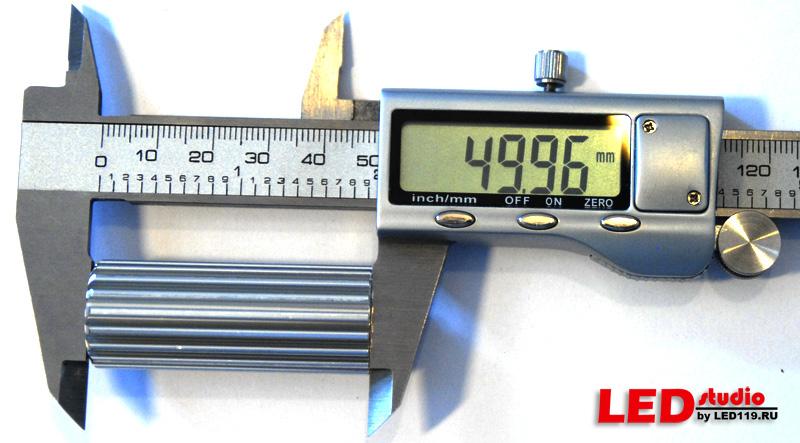 Радиатор D20 L50мм для платы STAR