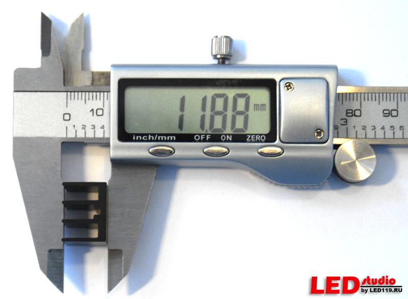 Радиатор регулятора тока 15x16x12 черный