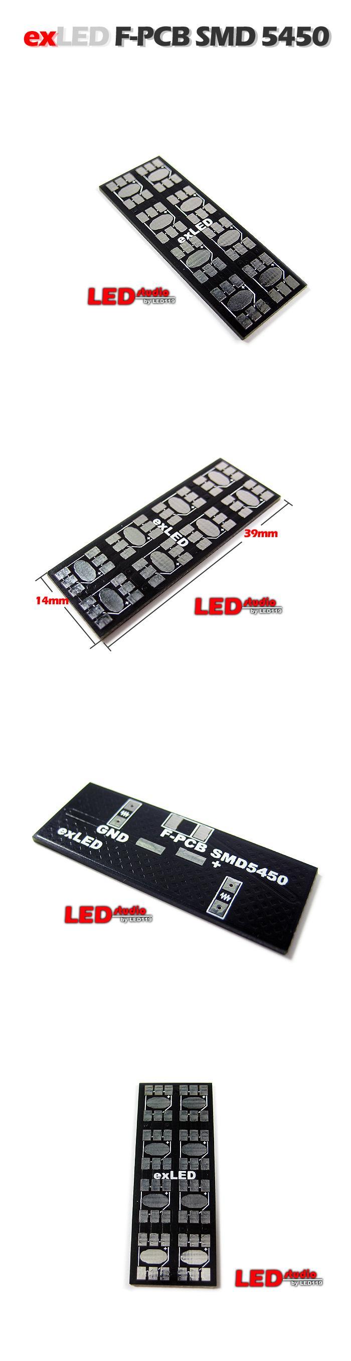 Плата F-PCB для 5450 (10 шт на плате)