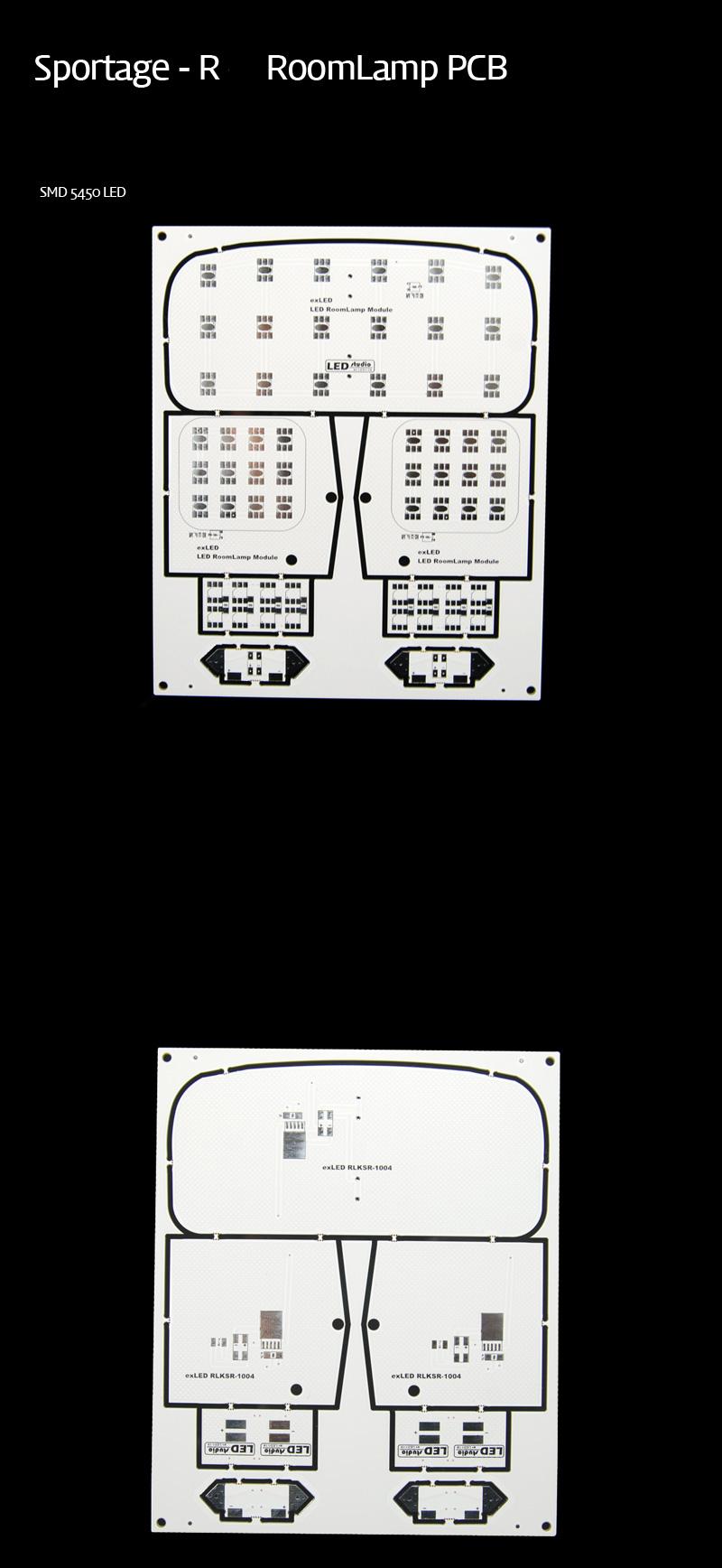Плата плафонов для KIA SPORTAGE R