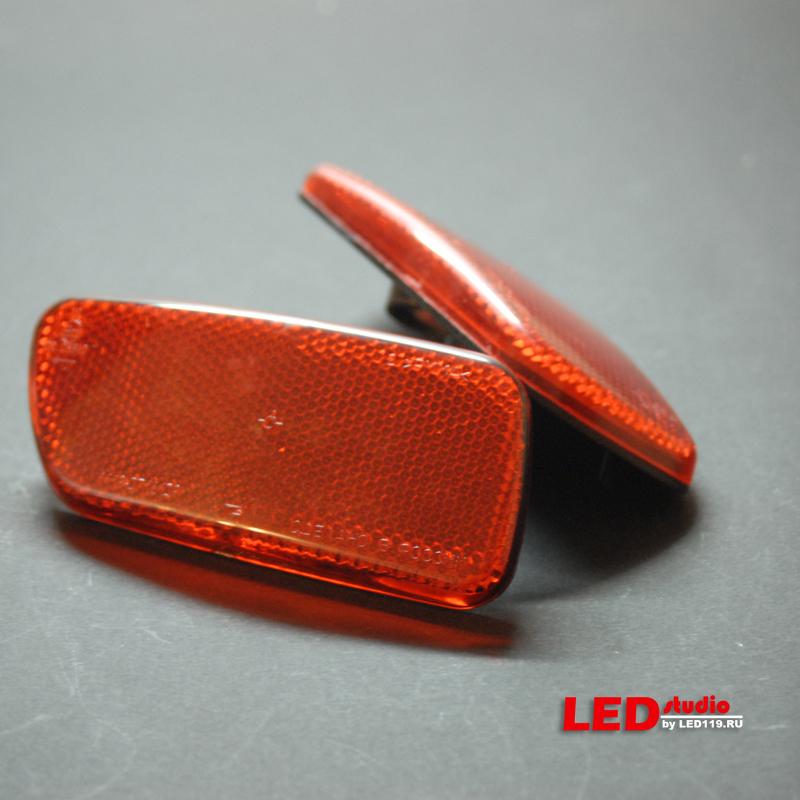 Рефлекторы заднего бампера LADA KALINA (2 шт)