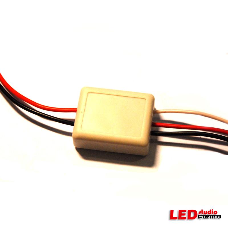 Светодиодный драйвер ШИМ 150 mA (с управляющим ПЛЮСОМ, автомат. вкл/выкл)