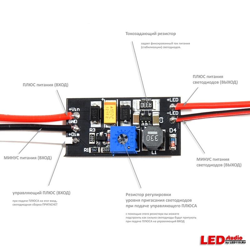 Светодиодный модуль elf 3smd цена